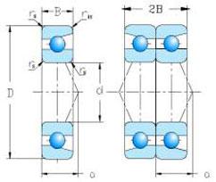 DB Series Angular contact ball