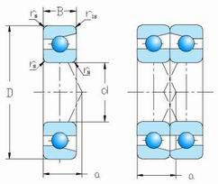 DF-Series-Angular-contact-ball bearing