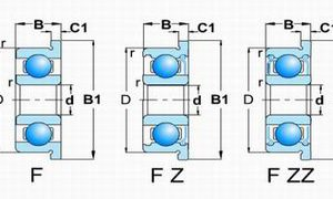 F60,62,67,68,69 Z/ZZ(Flange type with shields)