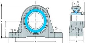 HCPE Series(Pillow Block Bearings)