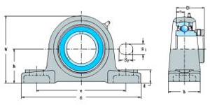 SAAK Series(Pillow Block Bearings)