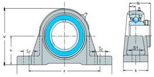 SAP Series(Pillow Block Bearings)