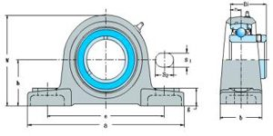SBAK Series(Pillow Block Bearings)