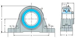 UCPE Series(Pillow Block Bearings)